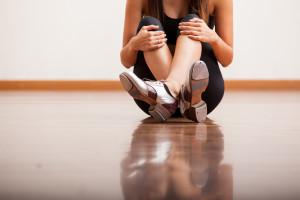Tap Dancer on Dance Floor
