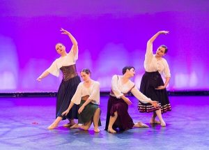 Performing ballet onstage with WAPS