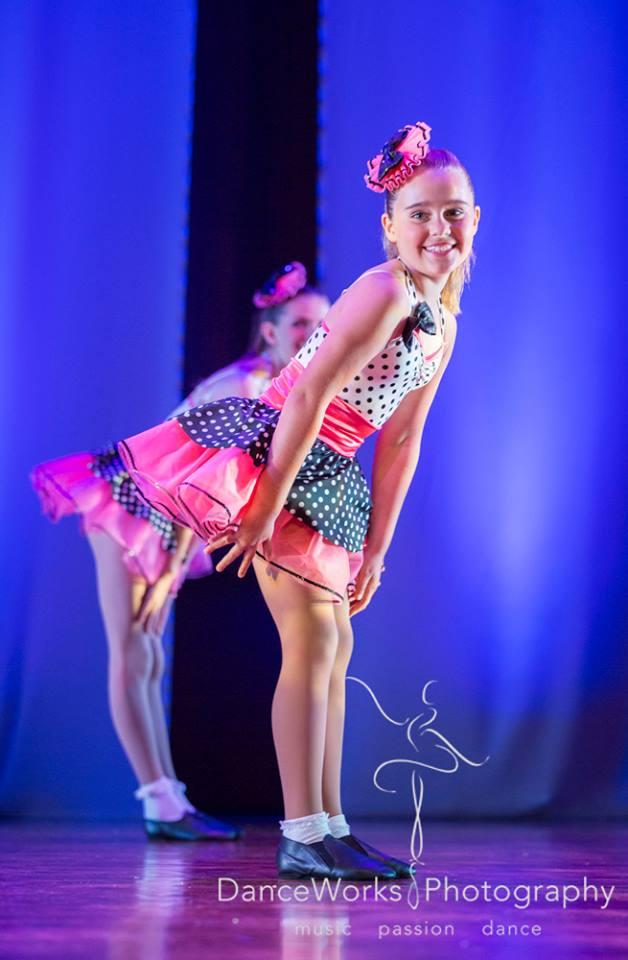 Tap Dance onstage at WAPS concert