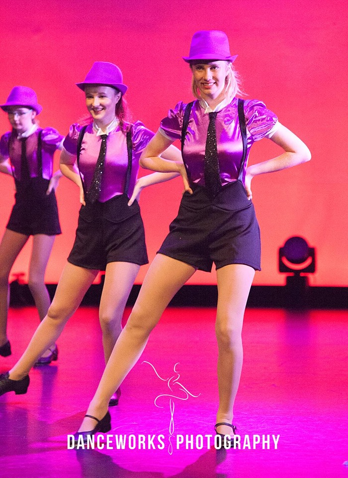 WAPS teen tap performing at the concert