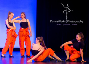 WAPS Teen tap onstage at the concert